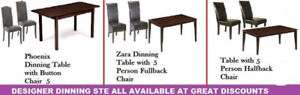SPECIAL SALE ON DINING TABLES COFFEE TABLES END TABLE OTTOMANS