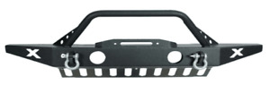Metal Full Front Bumper with D Ring for Jeep Wrangler JK 07-17