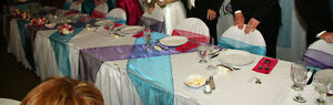 Wedding Decorations - Sashes and Runners and napkins