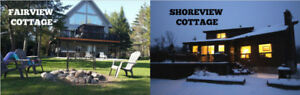 Luxury 4 Season Cottage Rental on Lake Couchiching