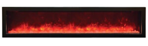 """72"""" Multi Color Fireplace Touch Screen Remote controls $999"""