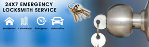 Residential and Commercial Locksmith.