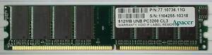 Apacer-77-10736-11G-512MB-PC3200-DDR-400MHz-non-ECC-184-Pin-DIMM