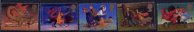 GB 1998 FAMOUS CHILDREN'S FANTASY NOVELS SET MNH