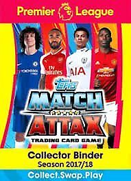 Match Attax EPL 2017/18 cards for Sale/Swap