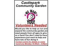 Castlepark community garden
