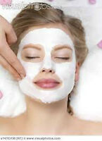 10 Diff Facial only 16 $,full body scrub with steam $ 30