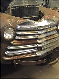 Wanted 46-47 mercury pickup grill parts or whole truck