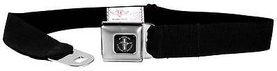 Seatbelt Men Canvas Web Military FORD MUSTANG Black White Silver Red Blue Black