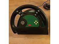 Nintendo 64 LX4 Steering Wheel. Good condition. Collection Only