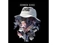 J Hus Live Tour Tickets x2