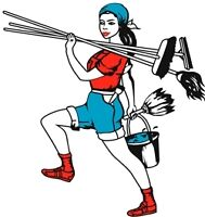 BUSY TIME OF YEAR, WHO HAS TIME FOR CLEANING?