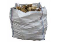 Builders bag of kiln dried logs