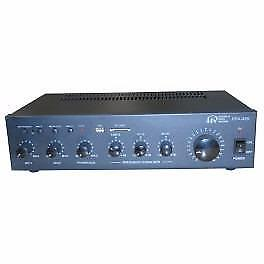 PUBLIC ADDRESS SYSTEM AMPLIFIER WITH FM TUNER, SD/USB PORT & REMOTE CONTROL