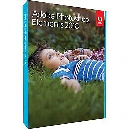 Adobe Photoshop Elements 2018! Mac or Windows $70