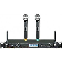 2-Channel Wireless Microphone System