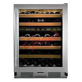 """Cellier a vin 24"""" SubZero 46 bouteilles 2 zones / Valeur 4600$"""
