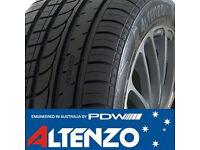 275 35 20 ALTENZO TYRES X4 AS NEW, FULL TREAD AUDI BMW 4X4