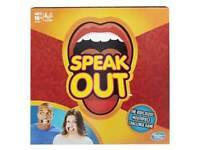 Speak Out - Hasbro Board Game (sold out in shops)