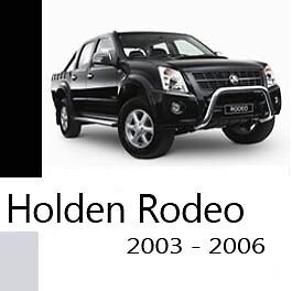 Holden Rodeo RA 2003-2006 Workshop Service Repair Manual