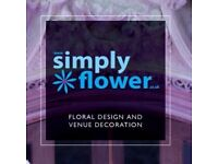 Florists required for busy events company - immediate start