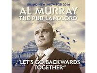 Al Murray - Lets Go Backwards Together Tour (2 x tickets)