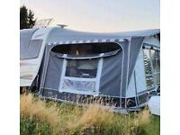 Nr Balmoral caravan awning. Size 16. 2yrs old. Only used for one season