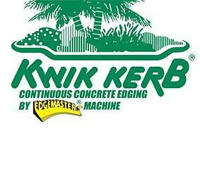 Kwik Kerb Continuous Concrete Edging Franchise For Sale ******* Edmonton Area image 8