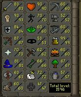 Selling level 109 Runescape Account!