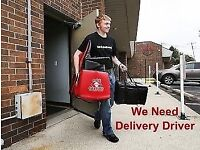 Part time delivery driver job
