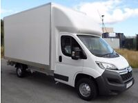 24/7 SHORT NOTICE LARGE VAN HIRE WITH DRIVER HOUSE MOVERS WASTE FURNITURE JUNK DISPOSAL NATIONWIDE