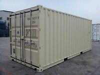 New 20 shipping container // 604 229 2257