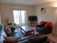 Spaciaous double bed room available in a flat