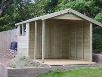 Fencing, decking, sheds, dog kennels, kitchens, flooring turfing, facia &a soffits and much more
