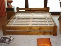 NEW SUPER KING SIZED SOLID WOOD BED FRAME