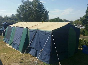 *Price Reduced * Canvas Tent - Hacienda by Great Outdoors & Great Outdoors Canvas