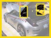 350Z Hatch Struts