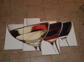 4 piece Canvas