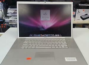 APPLE MACBOOK PRO 17 A1212 2006 INTEL C2D 2.33GHZ 2GB RAM 160GB HDD - SELLER REFURBISHED $275