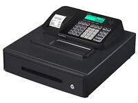 1 X BOXED CASIO ELECTRONIC CASH REGISTER SES100 RRP £150