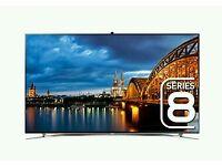 "Samsung 46"" Camera Smart 3D wifi tv LED 1080p Full HD free view. 8 series top model"