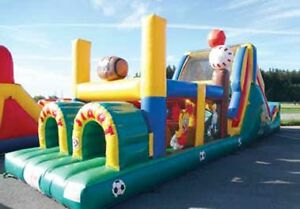 Jeu gonflable, location; Inflatable game, rental