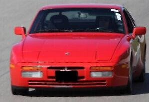 1987 Porsche 944 Turbo - Red with Black Leather