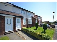 Lemington Rise, 2 bedroom terraced house with garage,driveway and gardens. Gas central heating.