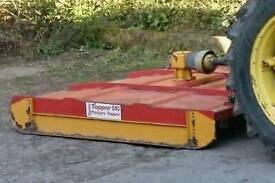 Teagle field topper not flail mower cutting equestrian horse pony
