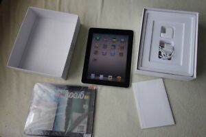 iPad 1 with box and charger