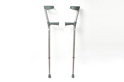 Awesome Sunrise Medical Pair Of Coopers Adjustable Adult Elbow Crutches With Plastic Handles 8298C Used In Bournemouth Dorset Gumtree Inzonedesignstudio Interior Chair Design Inzonedesignstudiocom