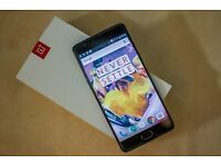 OnePlus 3T 64GB - Unlocked, Excellent condition Gunmetal