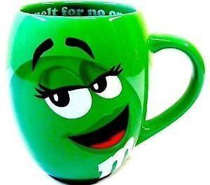 Green M Amp M Mug Ebay