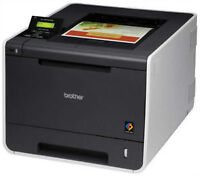 Brother HL4570CDW Color Laser Printer Like new - low page count